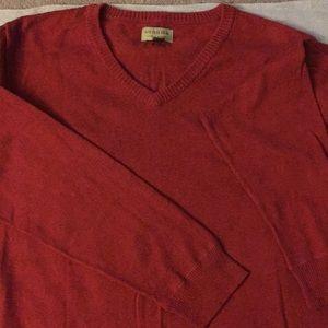 Sonoma red sweater